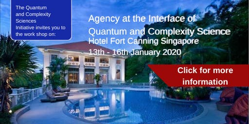 Workshop on Agency at the Interface of Quantum and Complexity Science: January 13th-16th, 2020