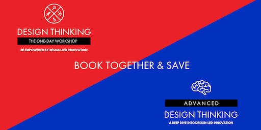 Book together & Save - Geelong - One-Day Workshop 15/01 and Advanced Design Thinking 16/01
