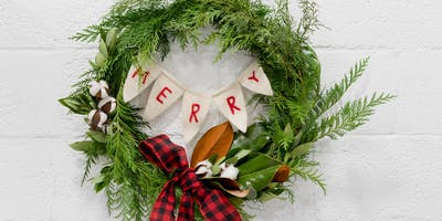 12/3 - Holiday Wreath Class