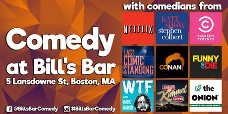 Comedy at Bill's Bar (Only $15) tickets
