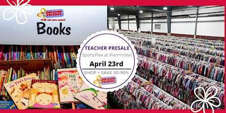 JBF Lower Bucks, Spring 2020:  Teacher Presale (FREE) tickets
