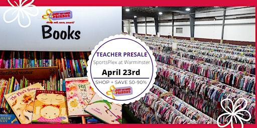 JBF Lower Bucks, Spring 2020:  Teacher Presale (FREE)