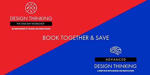 Book together & Save - Melbourne - One-Day Workshop 30/01 and Advanced Design Thinking 31/01