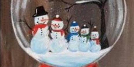 Winter Paint Night / Fundraiser / Snowglobe ($35/$20)