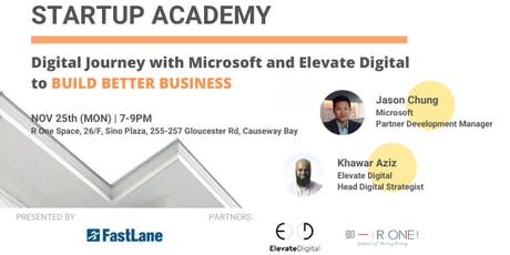 Digital Journey with Microsoft and Elevate Digital tickets