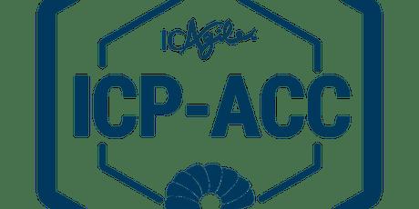 ICAgile ICP-ACC Coaching Agile Teams In Person -Toronto, Canada tickets