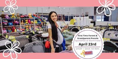 JBF Lower Bucks, Spring 2020:  First Time Parents & Grandparents Presale (FREE)