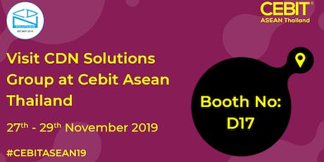 CEBIT ASEAN Thailand tickets