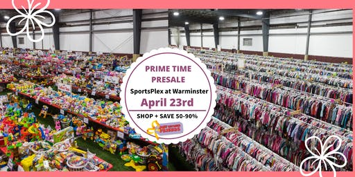 JBF Lower Bucks, Spring 2020:  Prime Time Shopping ($10)