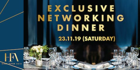 Exclusive Networking Dinner in Bangkok | 23 November tickets
