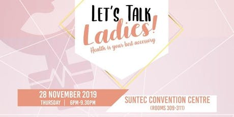 Let's Talk Ladies! tickets