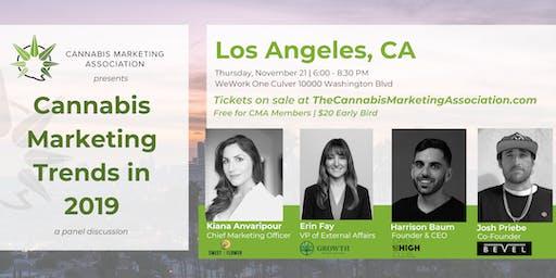 CMA  Los Angeles: Cannabis Marketing Trends in 2019