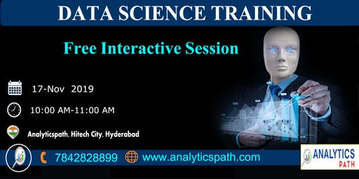 Data Science Free Interactive Session With IIT & IIM Experts On 17 Nov Hyd.
