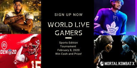 eSports Canada Tournament 2020 Sports Edition - Sign Up Now! tickets