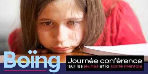 Boïng - Journée conférence JEUNES et SANTÉ MENTALE *EN SALLE*