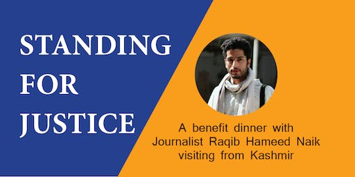 Standing for Justice with Journalist Raqib Hameed Naik from Kashmir