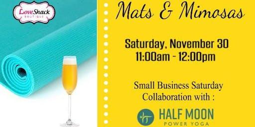 Mats & Mimosas - Yoga at Love Shack Boutique
