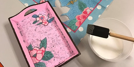 Simei: Decoupage Art Course - Feb 12-Apr 1 (Wed) 8 sessions tickets