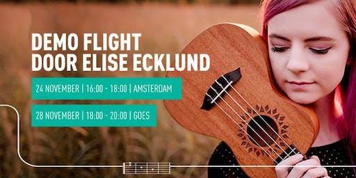 Demo Flight-ukeleles door Elise Ecklund