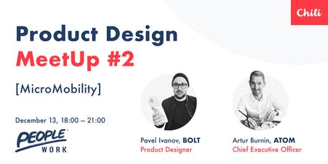 Product Design Meetup #2  | Micromobility  tickets