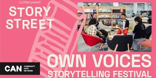 Own Voices Storytelling Festival | Community Brainstorm