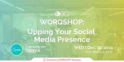 WORQSHOP: Upping Your Social Media Presence with C