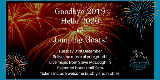New Year Eve at Jumping Goats!