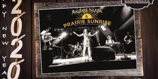 Andrea Nixon & Prairie Sunrise NYE