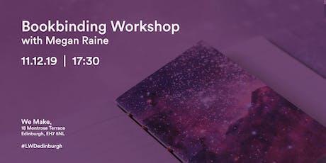 Bookbinding Workshop with Megan Raine tickets