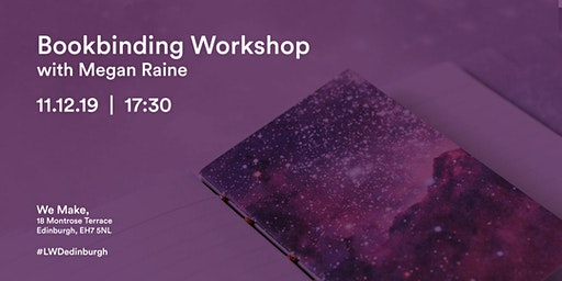 Bookbinding Workshop with Megan Raine