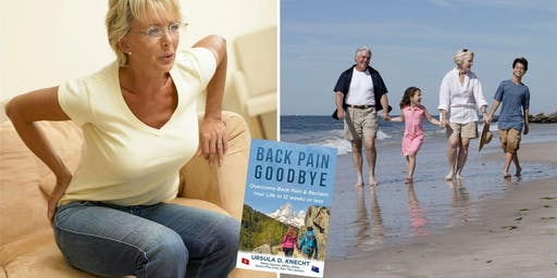 Back Pain Goodbye - Book Launch