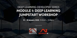 Deep Learning Jumpstart Workshop (15 – 16 January 2020)