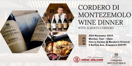 Cordero di Arceno Wine Dinner tickets