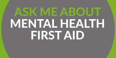 MHFA England Mental Health First Aider - 2 Day Course tickets