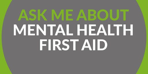MHFA England Mental Health First Aider - 2 Day Course