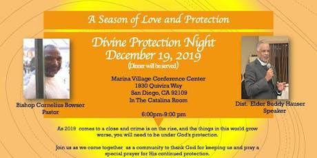 Charity Apostolic Church Divine Protection Night tickets