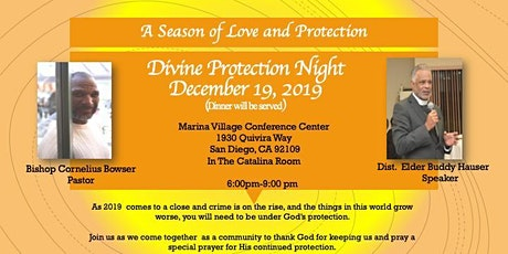 Charity Apostolic Church Divine Protection Night tickets