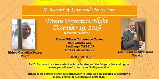 Charity Apostolic Church Divine Protection Night