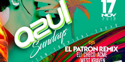 Azul Sundays @ The Valencia Room 11/17