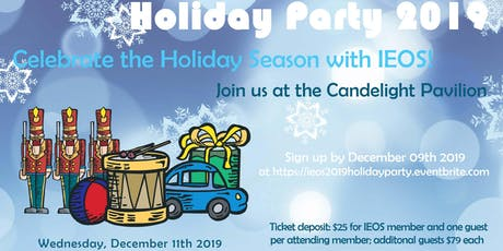 IEOS 2019 Holiday Party at Candlelight Pavilion tickets
