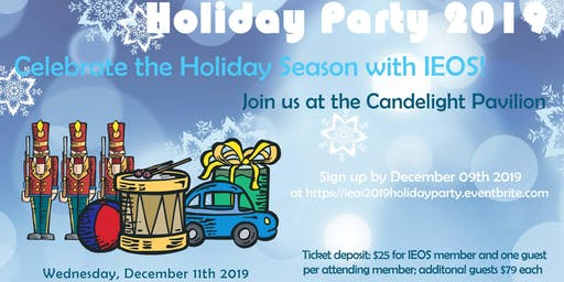 IEOS 2019 Holiday Party at Candlelight Pavilion