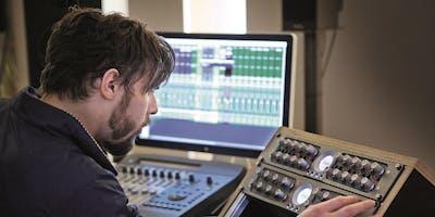 Schnupper-Workshop am Open Day: Musikproduktion - Arbeiten im Tonstudio