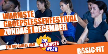 Warmste Groepslessenfestival @Basic-Fit Waregem tickets