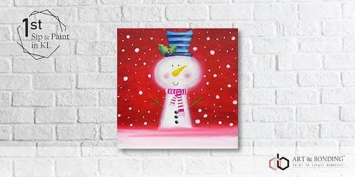 Sunday Sip & Paint : The Joyful Snowman