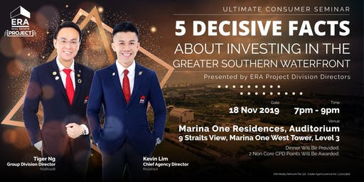 [UCS] 5 Decisive Facts About Investing in the Greater Southern Waterfront