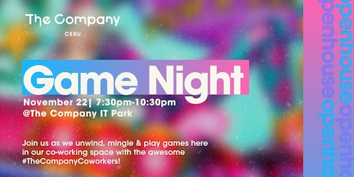 Mixer: Game Night | The Company IT PARK