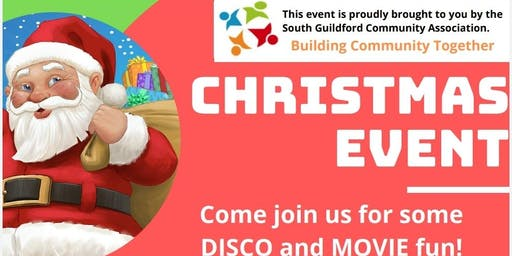 Christmas in South Guildford - disco and movie