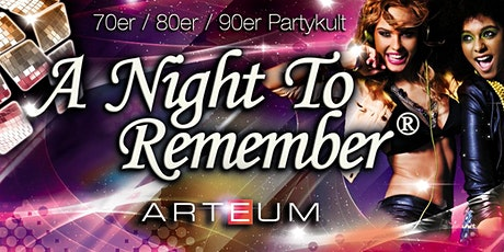 A Night To Remember - Jahrzehnte Glücksrad Tickets