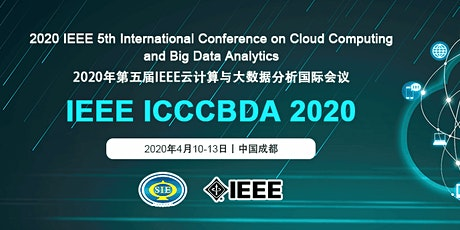 5th Intl.  Conf. on Cloud Computing and Big Data Analytics: ICCCBDA 2020 tickets