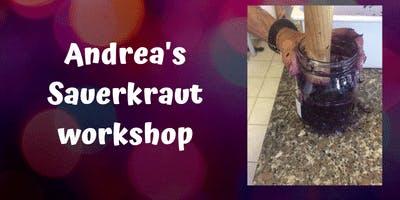 Andrea's Sauerkraut workshop